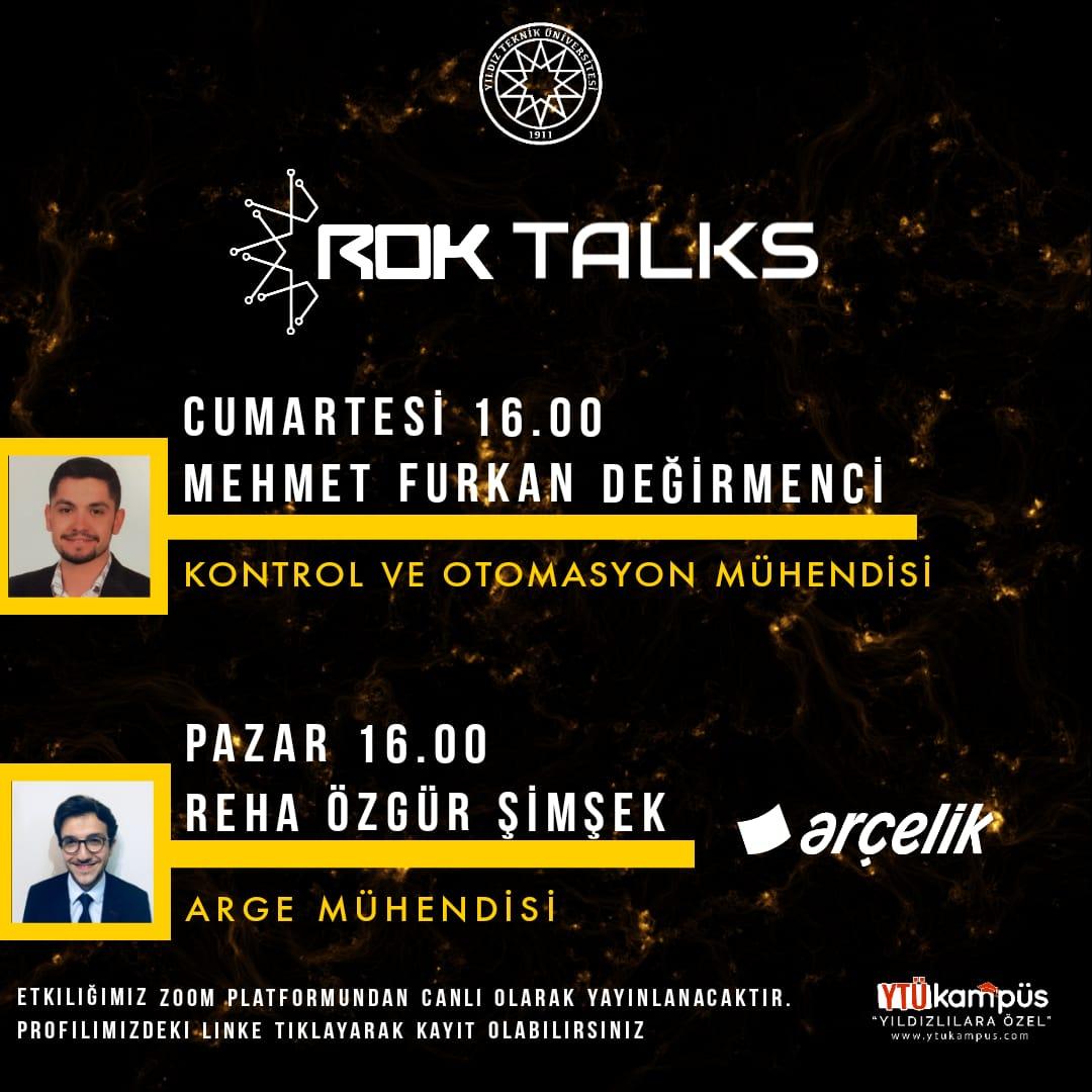 ROK TALKS 3!